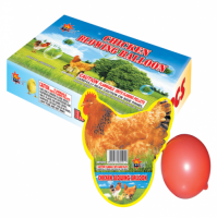 CHICKEN BLOWING BALLOON - 1 PIECE