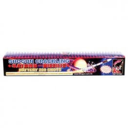200 SHOT CRACKLING SATURN MISSILE